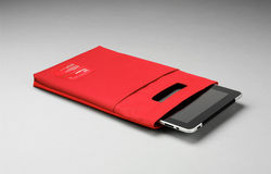 Pouzdro na iPad Unit 04/ red